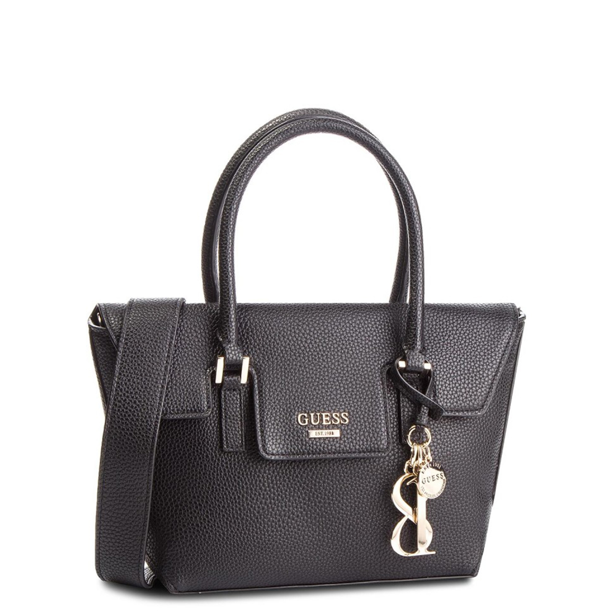WEST SIDE SMALL FLAP SATCHEL BLA