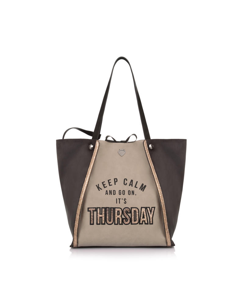 WEEK BAG THURSDAY TAUPE
