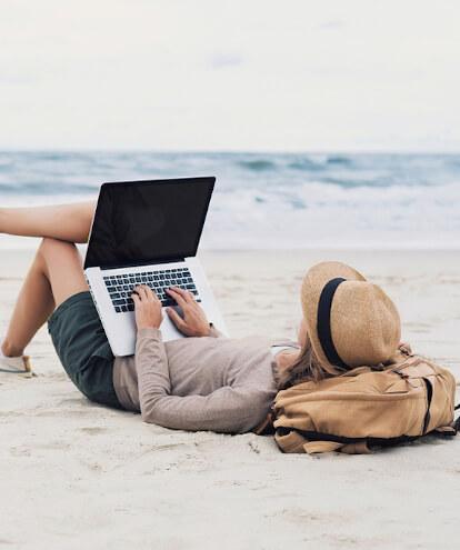 Lavoro in vacanza? 5 prodotti per renderlo smart