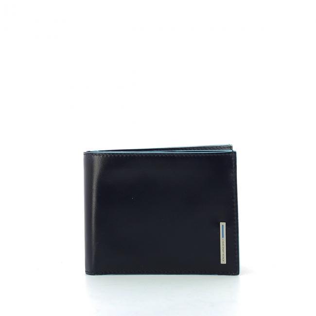 f70fc0deb2 Portafoglio con portamonete Blue Square Piquadro | Bagalier.com