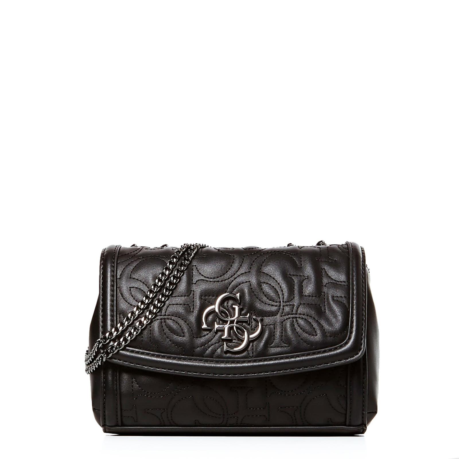 Guess Borsa a tracolla New Wave 4G - BLACK