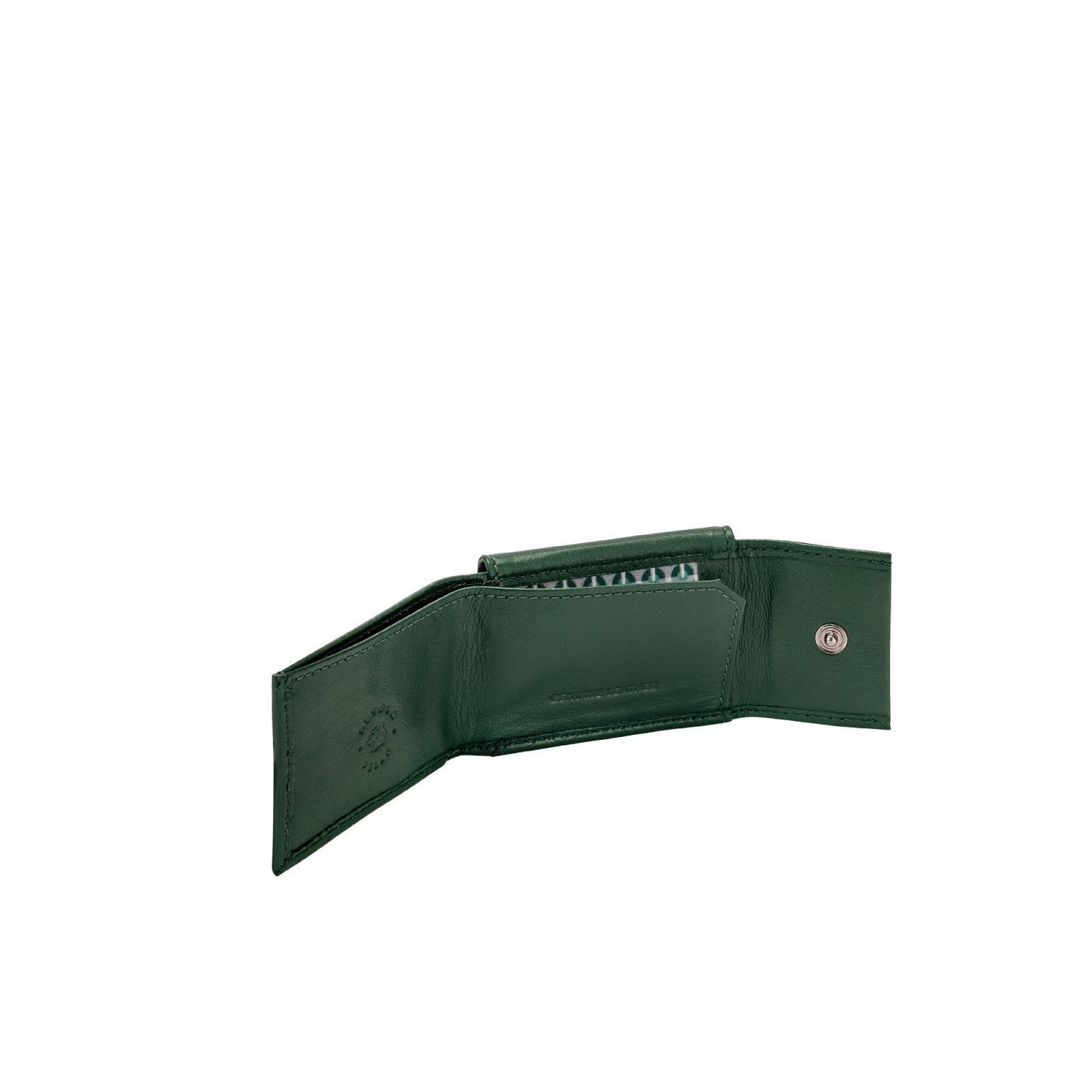 Portafogli  Uomo  Nappa - Buddy  - Verde