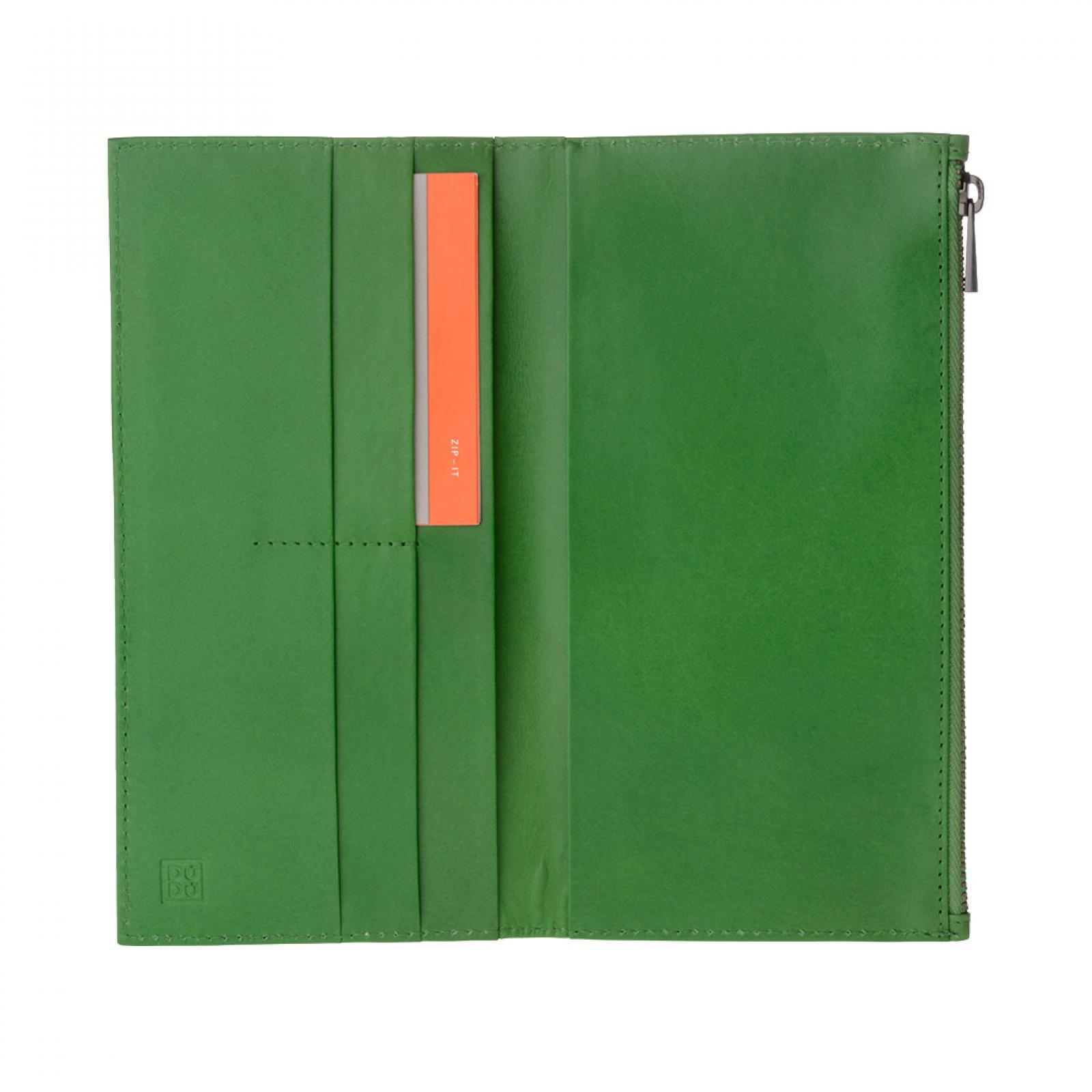 Portafogli  Uomo  Zip-it - Tom - Verde