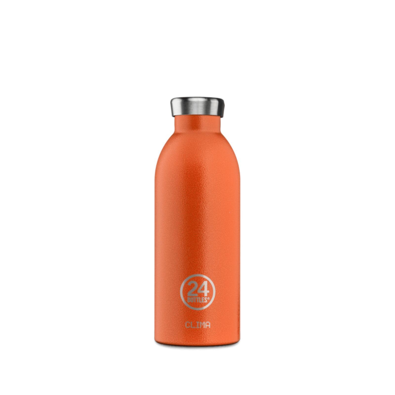 24 Bottles Clima Bottle Sunset Orange 500 ml - 1