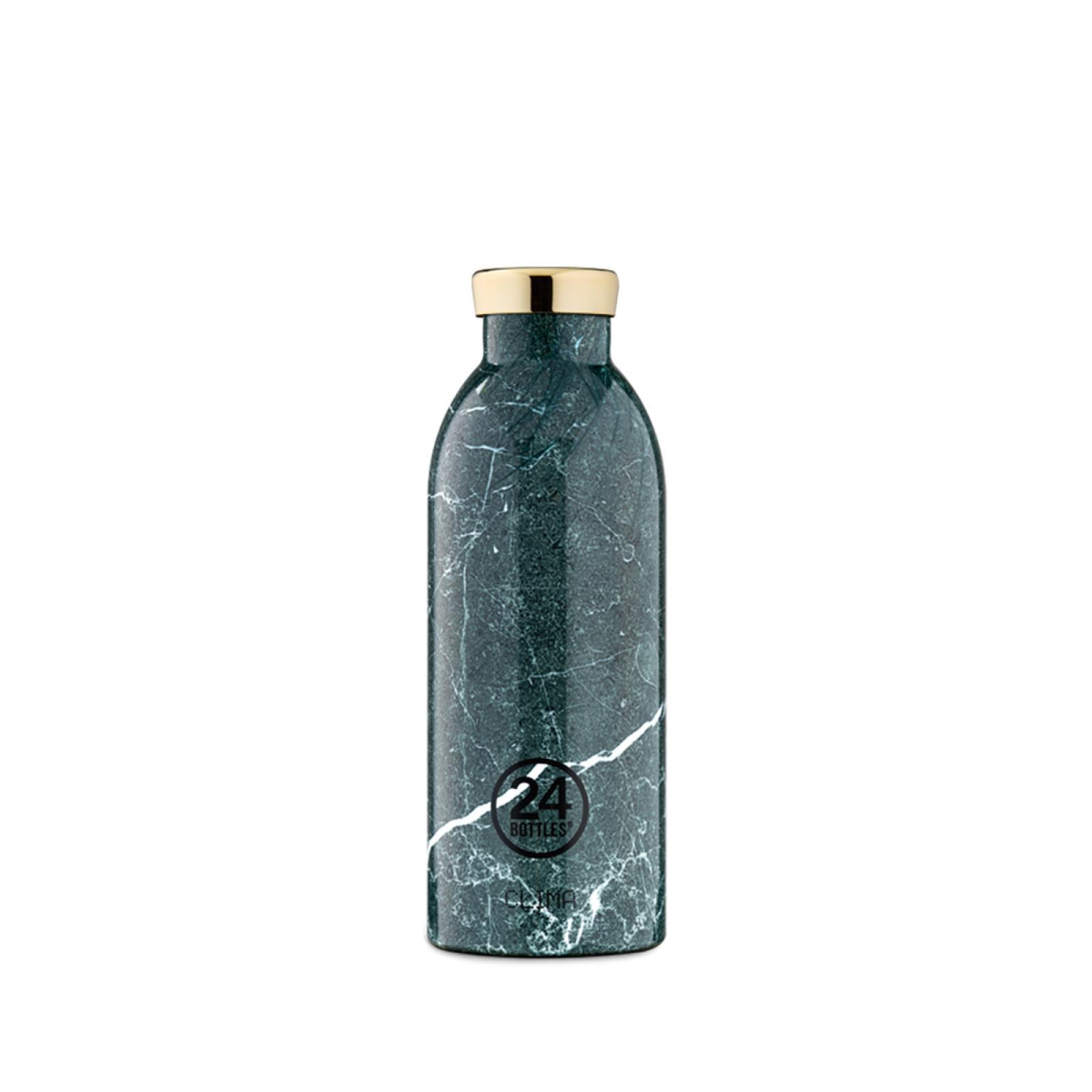 24 Bottles Clima Bottle Green Marble 500 ml - 1