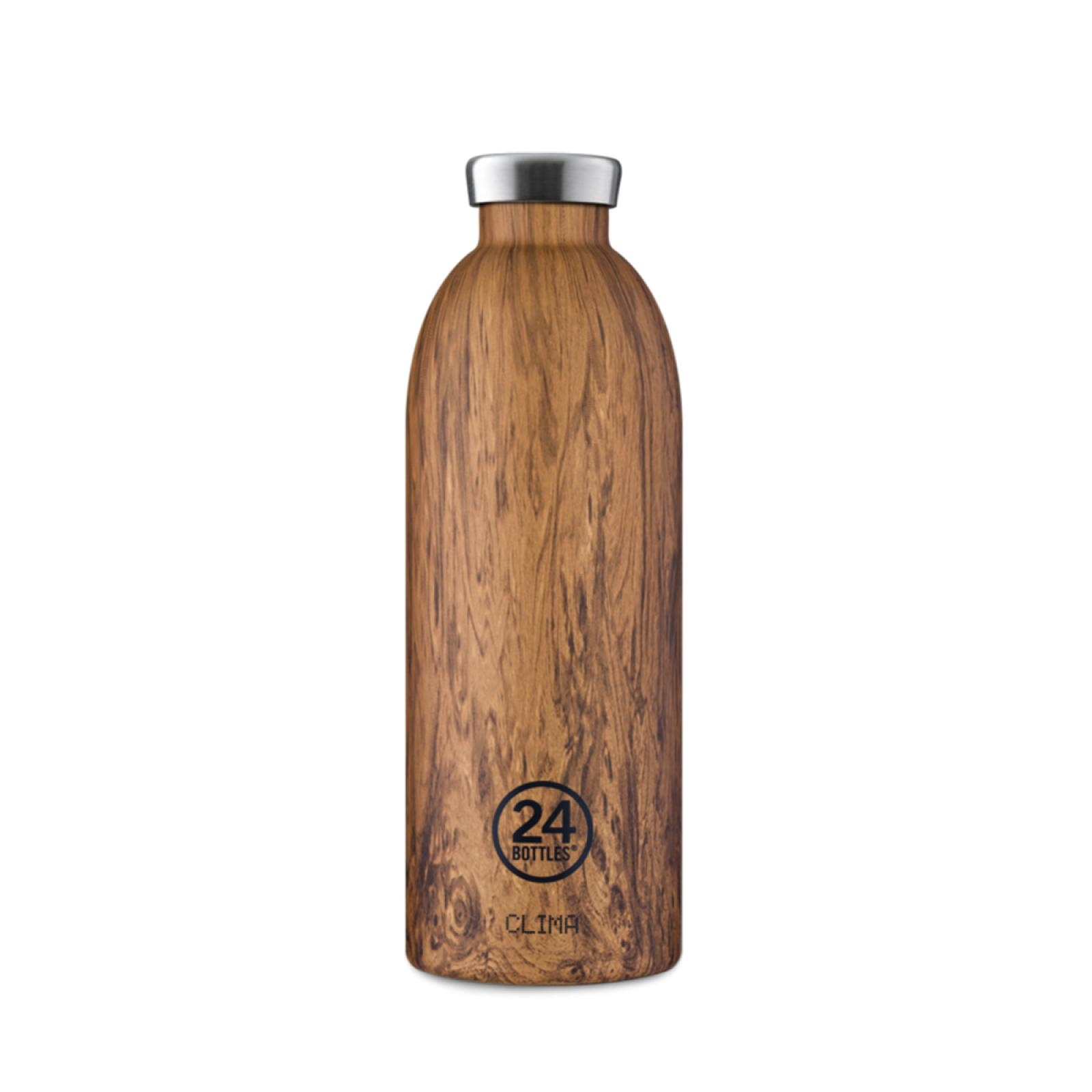 24 Bottles Clima Bottle Sequoia Wood 850 ml - 1