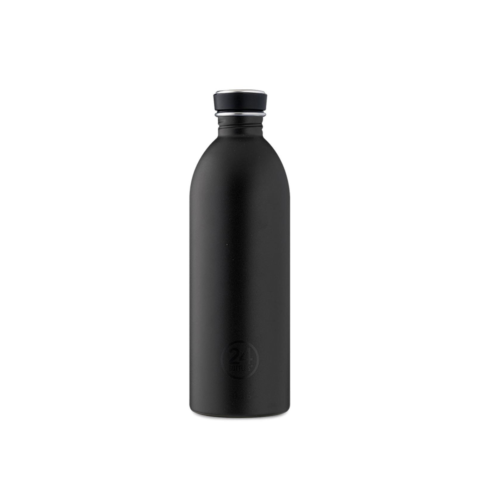 24 Bottles Urban Tuxedo Black 1000 ml - 1