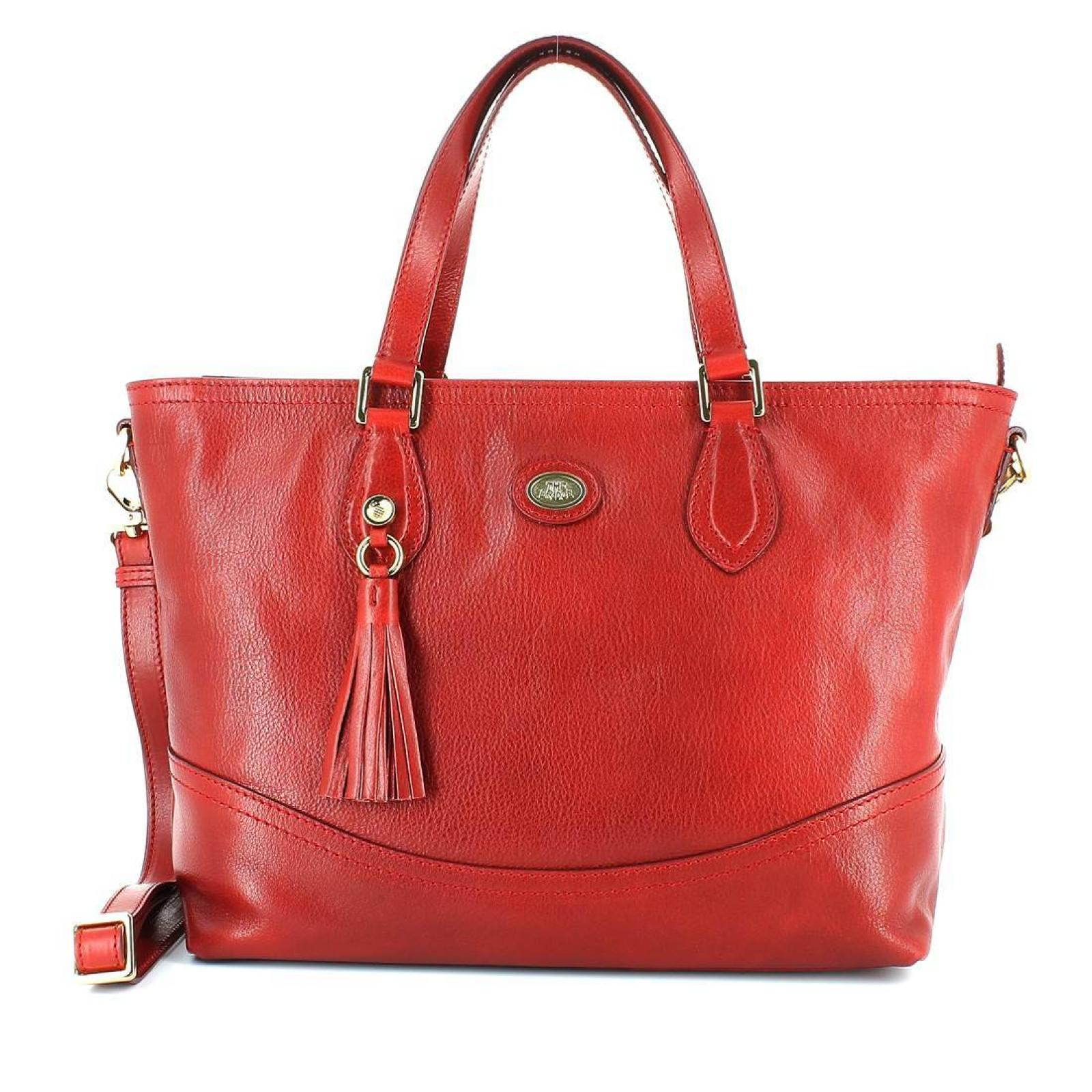 Classic Leather Handbag