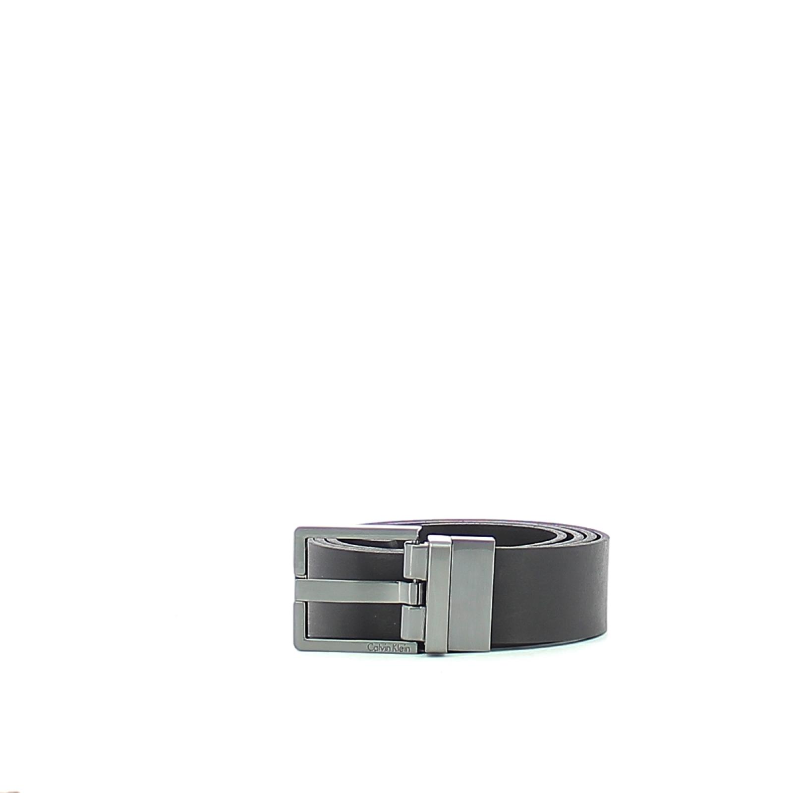 Leather Belt Casual Reversible-BLK/BRW-120