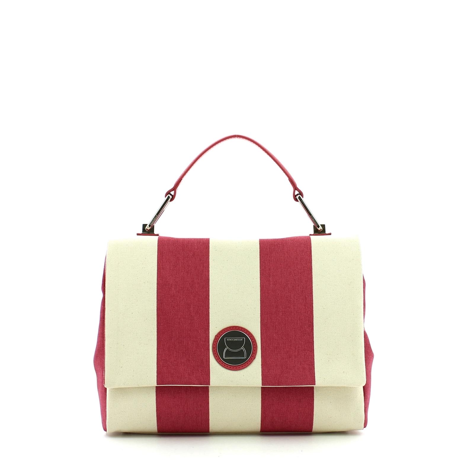 Coccinelle Borsa a mano Liya Medium in Canvas -