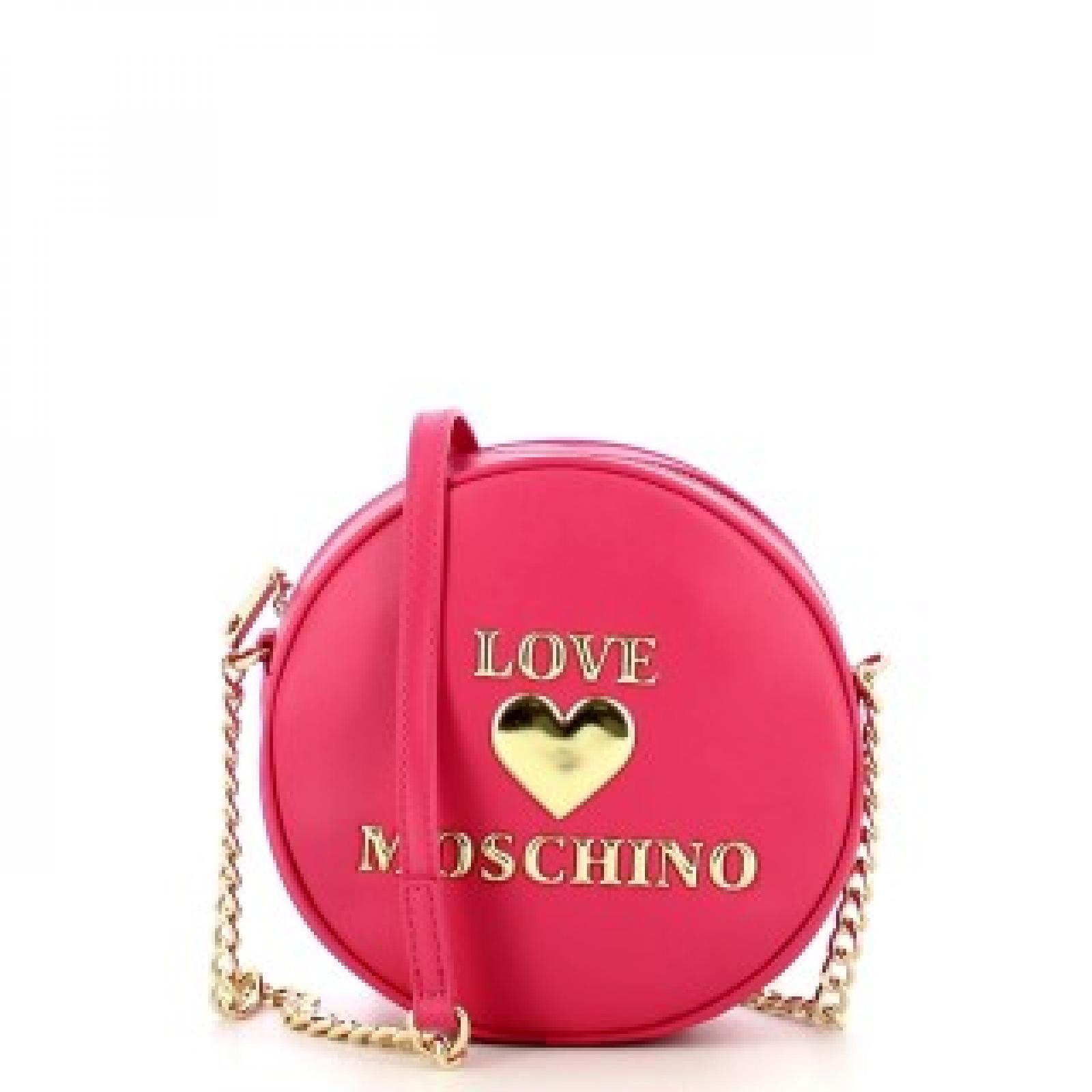 Love Moschino Tracollina Tonda Padded Heart - 1