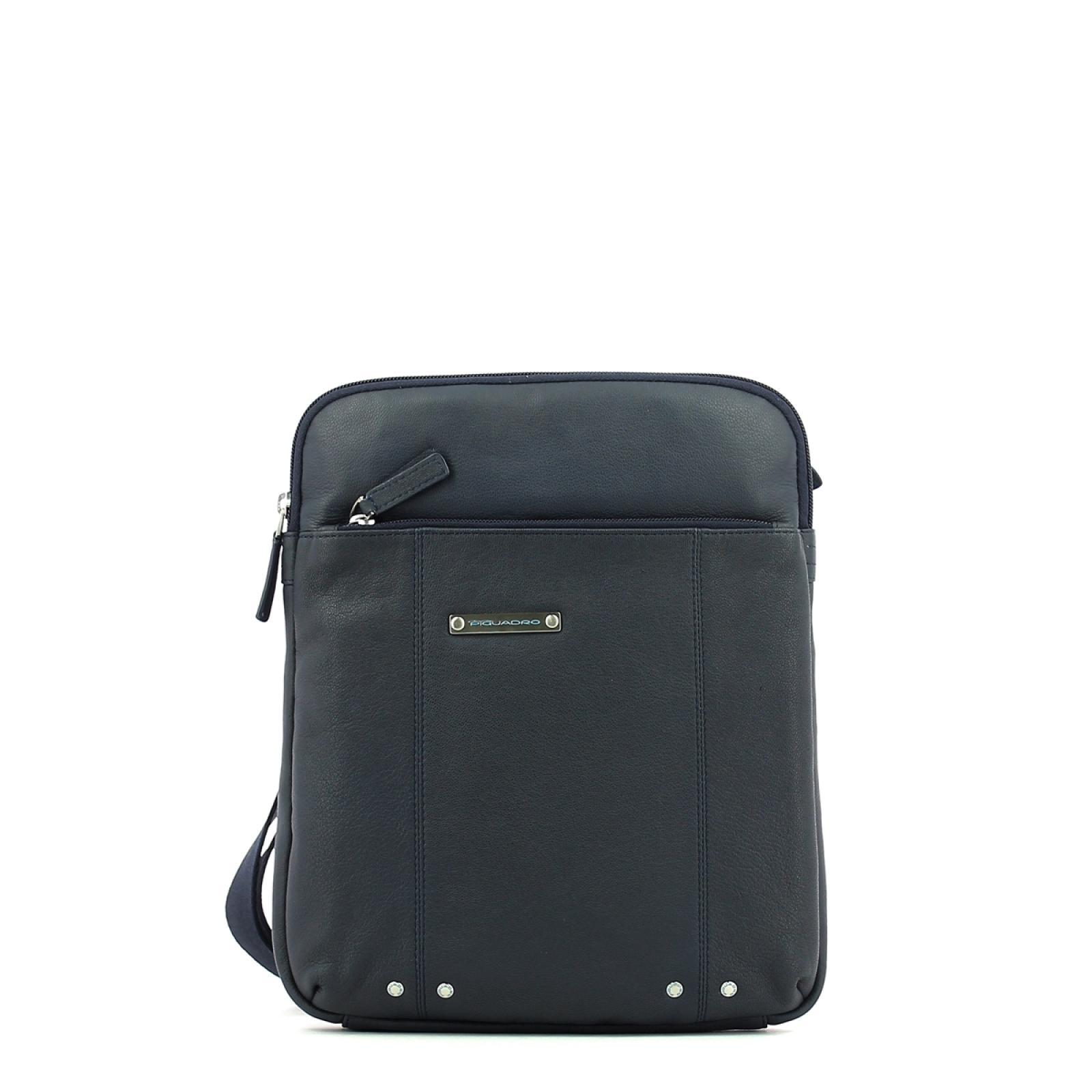 Organised shoulder pocket bag-BLU-UN