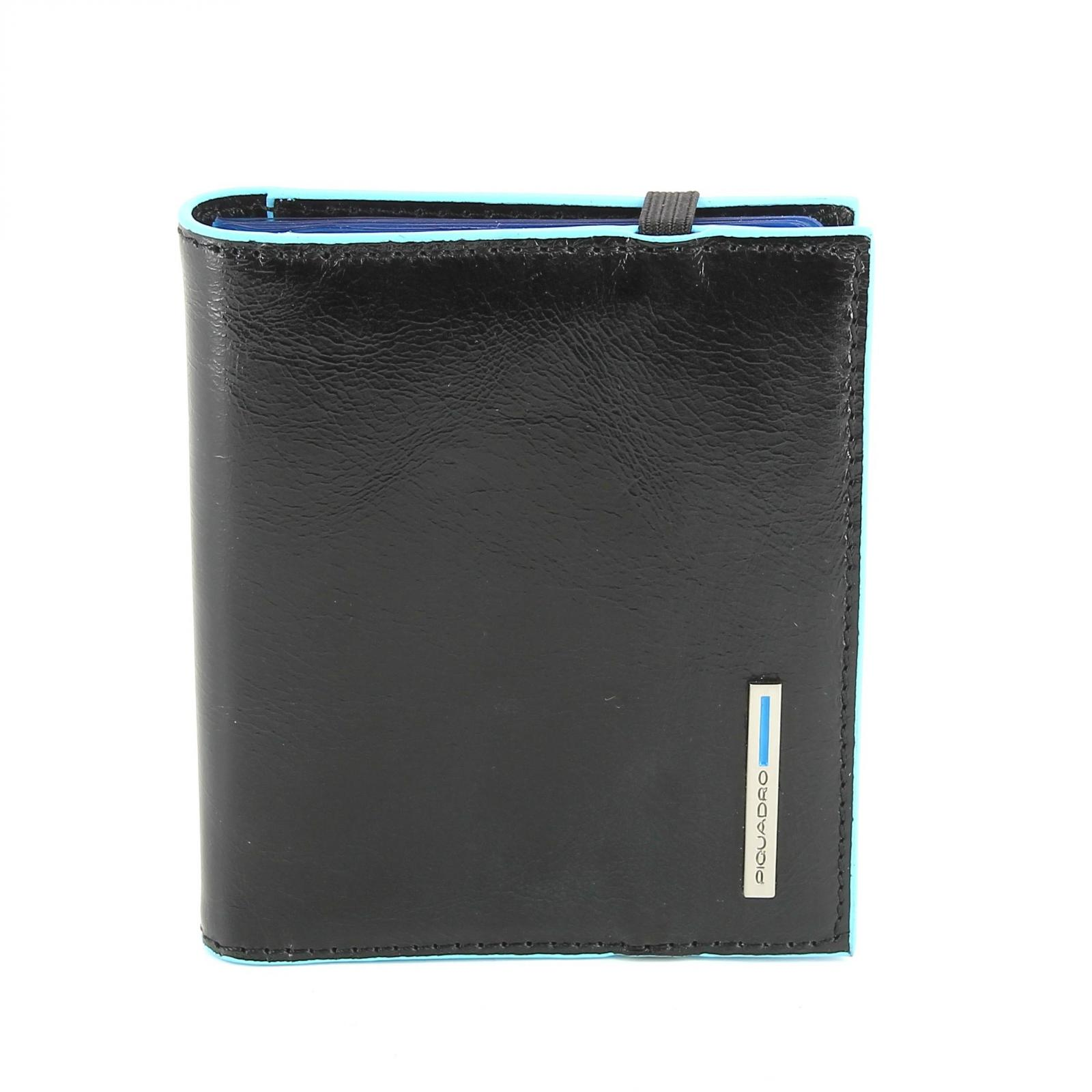 Business Card holder Blue Square B2