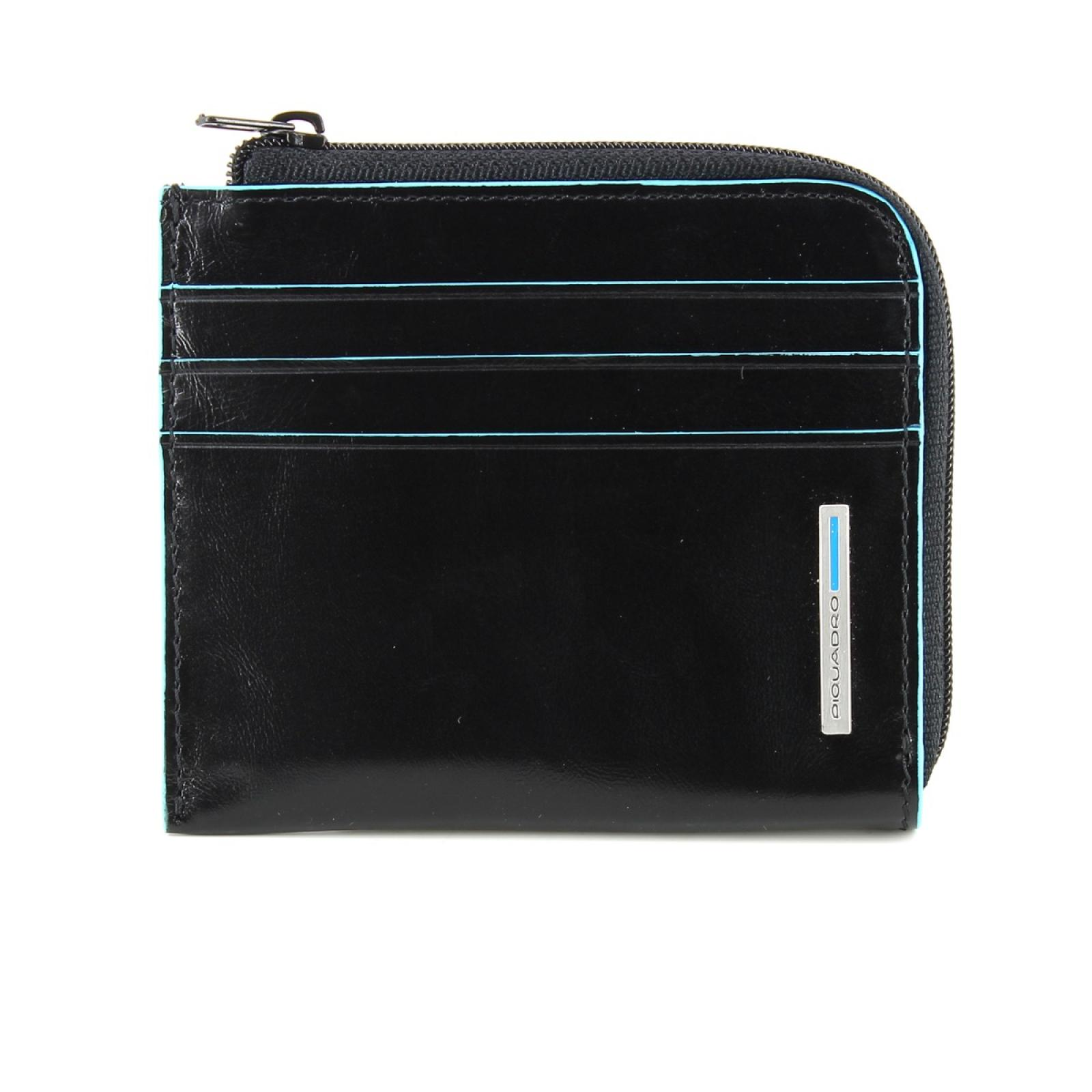 Blue Square Coin Purse