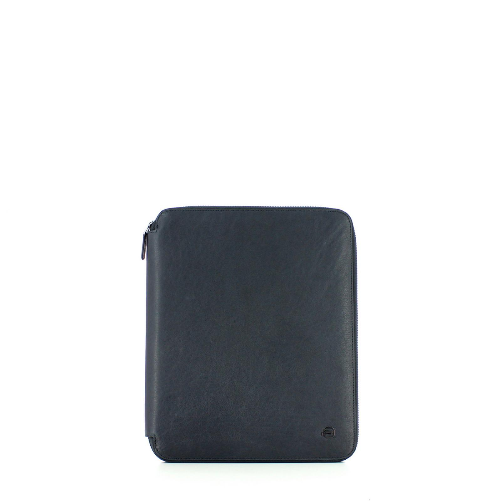 Slim Notepad holder A4 Blue Square-BLU-UN