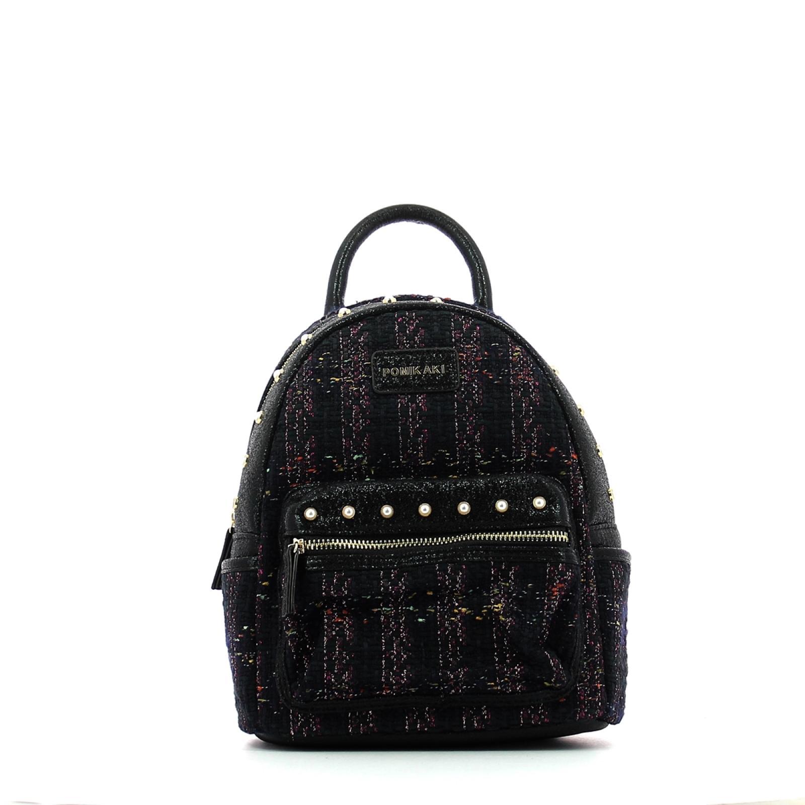 Backpack Meggy-BLACK-UN