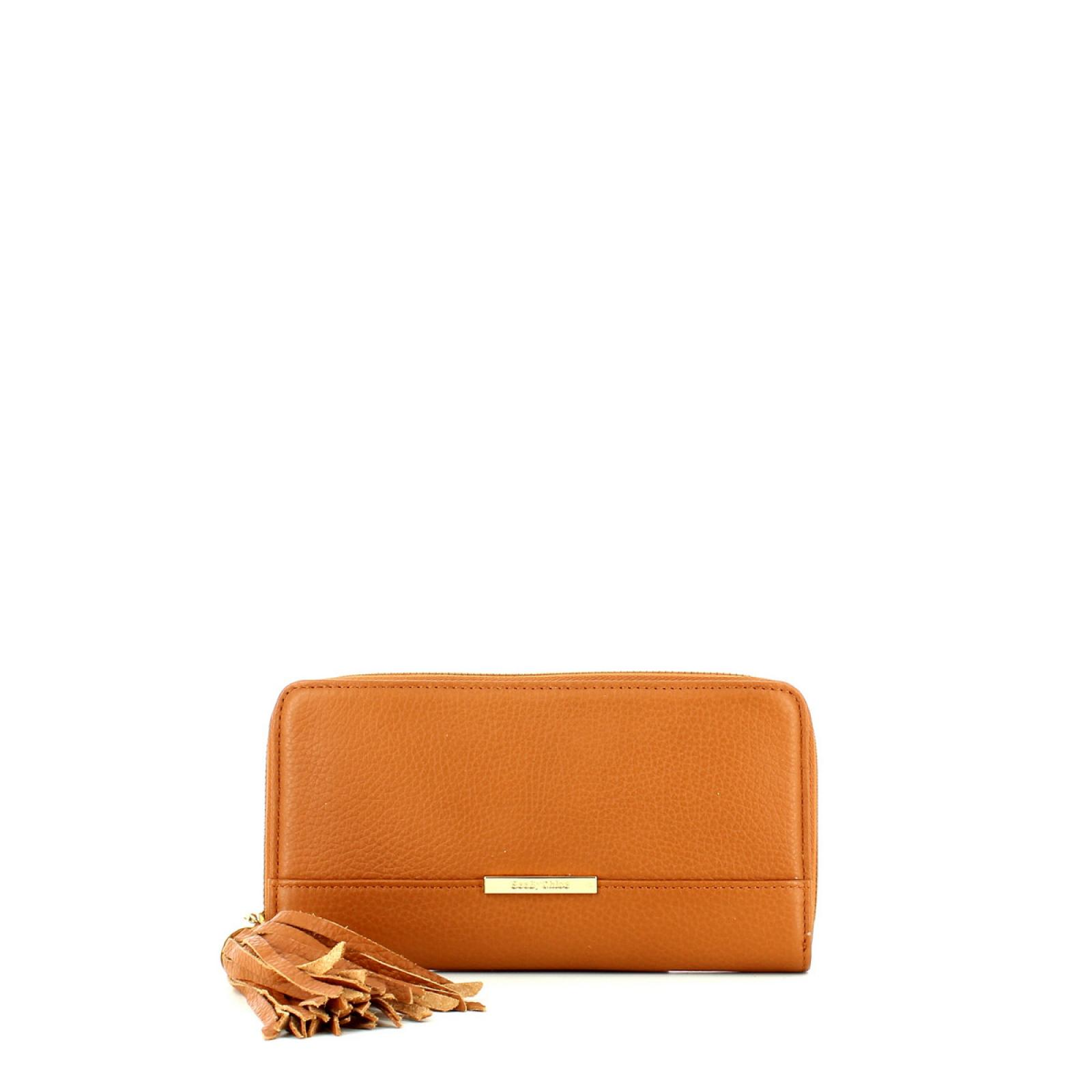 Smart Zipped Wallet Vicki-HAZEL-UN
