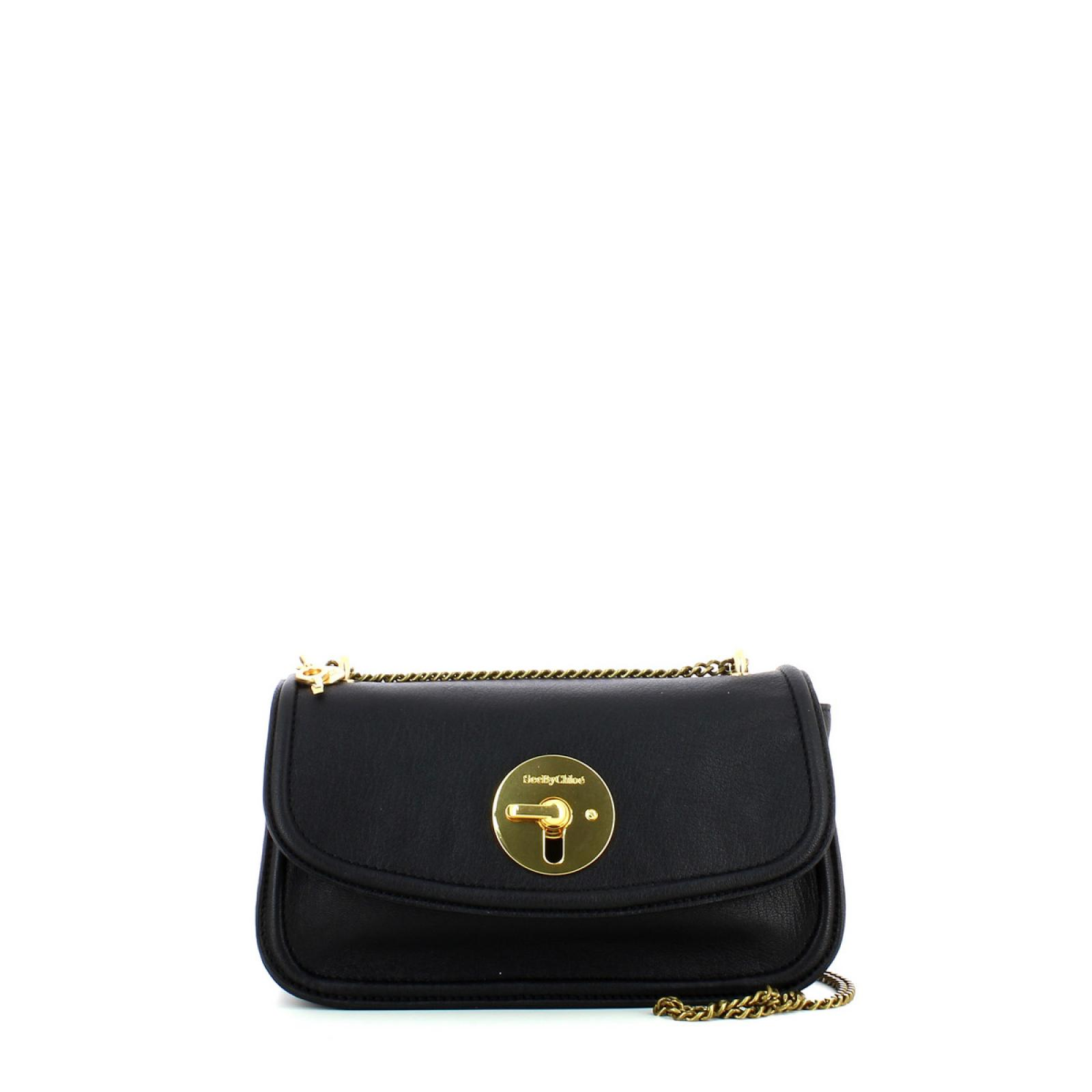 Medium Evening Double Carry Crossbody/Shoulder Lois-BLACK-UN