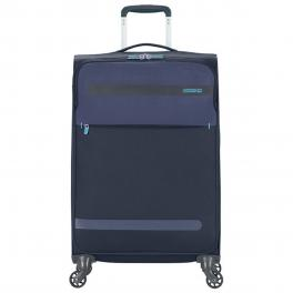 American Tourister Trolley Medio Superlight Herolite Spinner 67 cm - MIDN.BLUE