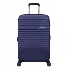 American Tourister Trolley Medio Aero Racer Spinner 68/25 - NOCTURNE/BLUE
