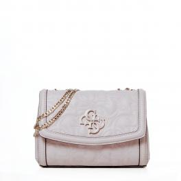 Guess Mini borsa a tracolla New Wave 4G - MOONSTONE