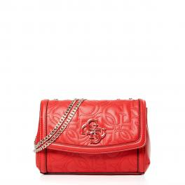 Guess Mini borsa a tracolla New Wave 4G - RED