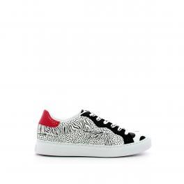Sneakers con laccio logato - 1