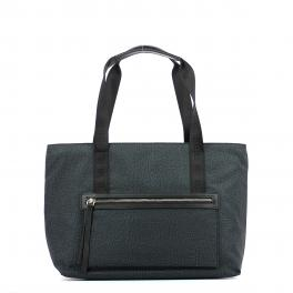 Medium East West Shopper Jet-NERO-UN