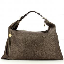 Borbonese Hobo Bag XL Jet - 1
