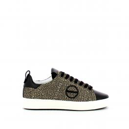 Borbonese Sneakers James in pelle e tessuto OP - 1