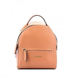 Soft Leather Mini Backpack Clementine-ARGILE-UN