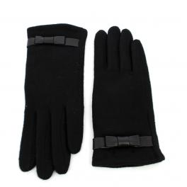 Wool gloves Valerie-NOIR-M