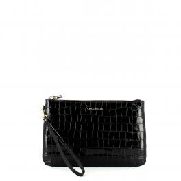 Coccinelle Pochette New Best Soft Croco Medium - 1