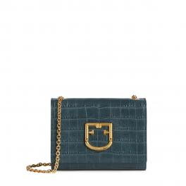 Furla Mini Crossbody Viva with Croc print - 1