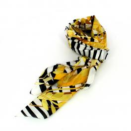 Guess Silk scarf with zebra print - 1