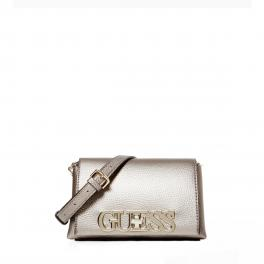 Guess Mini borsa a tracolla Uptown Chic Pewter - 1