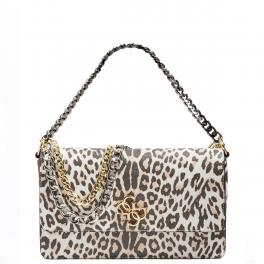Guess Maxi Tracolla Animalier Leopard - 1