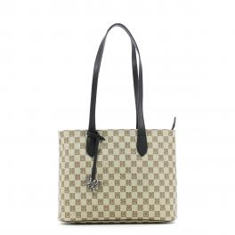 Top Bag Zip Monogram-NERO-UN