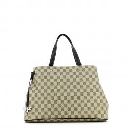 Handbag Monogram-NERO-UN