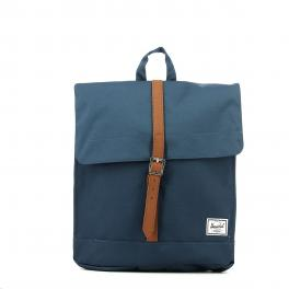 Herschel City Backpack Mid-Volume Navy Tan - 1