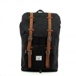 Herschel Little America Backpack Mid-Volume 13.0 Black Tan - 1