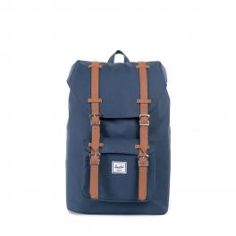 Herschel Supply Little America Mid Backpack 13.0 Navy Tan - 1