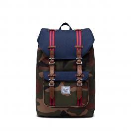 Herschel Supply Little America Mid Backpack 13.0 Woodland Camo Peacot TanP - 1