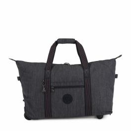 Kipling Borsone Art on Wheels M Denim - 1