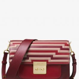 Michael Kors Sloan Editor Tri-Color Small Satchel - 1