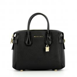 Michael Kors Mercer Small pebbled leather Satchel - 1