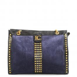 La Carrie Bag Kim Shopper in suede - 1