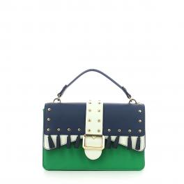 Handbag Melrose Tassels-JELLY/GREEN-UN