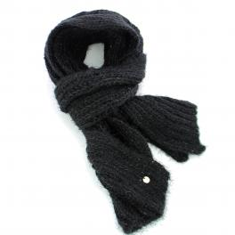 Scarf Paillettes-BLACK-UN