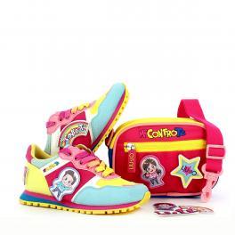 Liu Jo Sneakers Bambino Me Contro Te Wonder con tracollina - 1